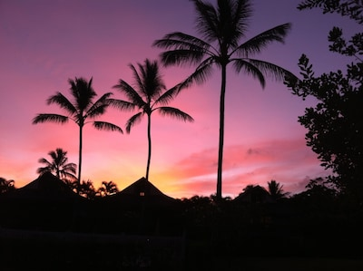 Sunrise from the lanai