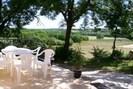 de la terrasse,vue sur la campagne.