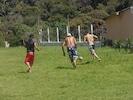 Campo de futebol, gramado.