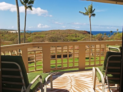 Breathtaking view of Papohaku Beach from inside your living room!