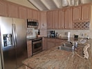 Now, this is what I call a Kitchen... no more skinny, little, galley style ones!