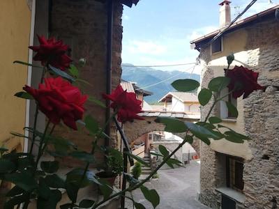 Pornassio, Ligurien, Italien
