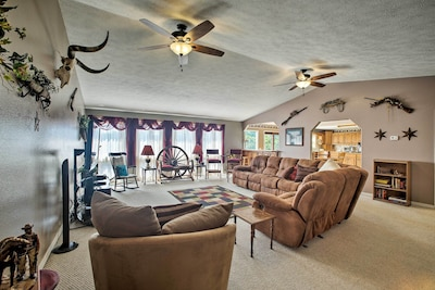 This family friendly home makes it easy to spend time together.