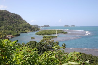 Hike up the jungle for this amazing view!