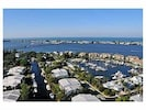 Condo foreground. Intracoastal, Anna Maria Island, and Gulf of Mexico background