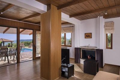 Living room villa Rodia