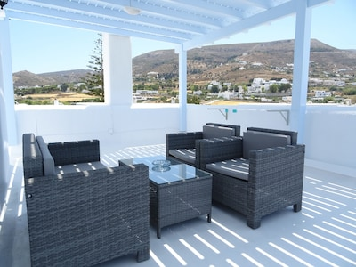 your private large terrace,With sea view, With panoramic view, only for yours.