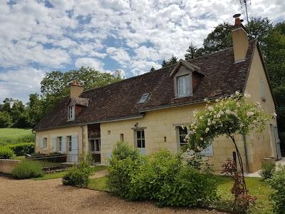 Gâtine et Choisilles - Pays de Racan, Indre-et-Loire (department), France