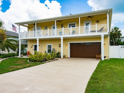 Exterior - Welcome to Palm Coast! This beach home is professionally managed by TurnKey Vacation Rentals.