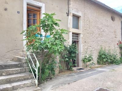 Accès par l'escalier extérieur