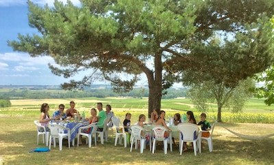 A great venue for a big family gathering !