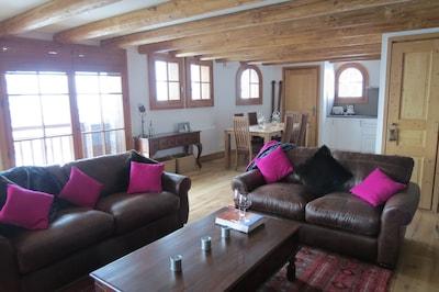 Luxury Apartment in St Martin de Belleville, Les 3 Vallees