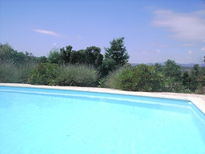 big swimming pool , unobservable
