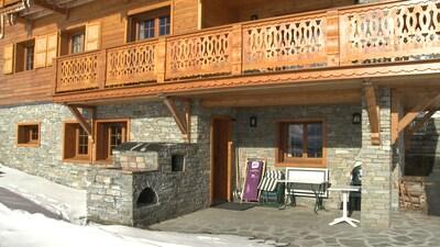 Appartement de plein pied, la terrasse