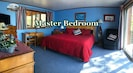 'Master Bdrn Suite' - King bed, deck access, private bathroom, washer and dryer