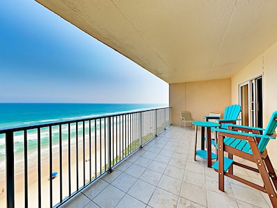 Balcony View - Welcome to South Padre Island! This condo is professionally managed by TurnKey Vacation Rentals.