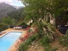 Récluzière  La piscine, en contrebas de la maison et le coin jacuzzi