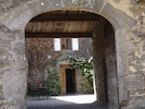 Archway Entrance To Courtyard.