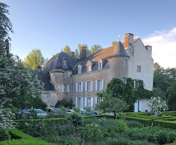 The Chateau from the gardens