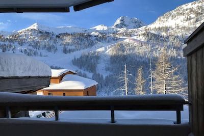 Station de ski d'Isola 2000, Isola, Alpes-Maritimes, France