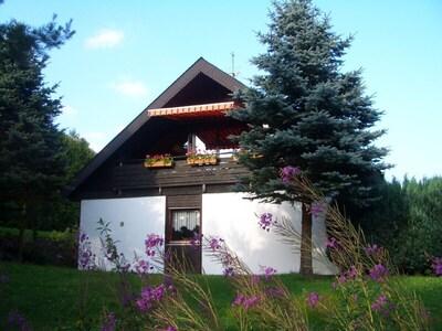 Haus Hannelore im Sommer