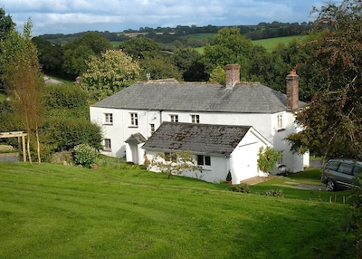 Farmhouse in peaceful rural Devon (with heated outdoor pool May-Oct)