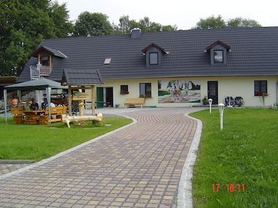 Bahnhof Unterlemnitz, Bad Lobenstein, Thüringen, Deutschland