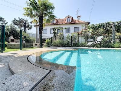 Villa+Piscine