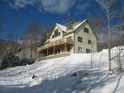 View Of House from the Ski Trail