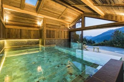 piscine chalet des envers