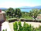 Die Einfahrt zu Ihrem Feriendomizil U Paradisu - bereits mit Panoramablick
