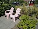 Easy chairs to enjoy the sun.