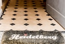 Welcome mat is out
