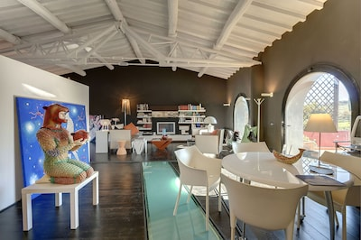 Stunning Design LOFT in Villa LE MASSE on an amazing hill near Florence, Tuscany