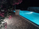 Pool by night amazing