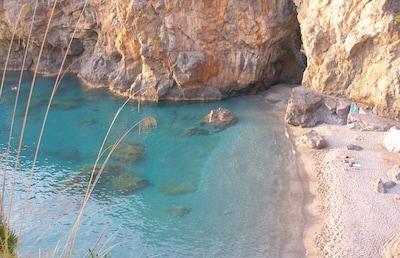 Parc aquatique Aquafan Aqua Park, Praia a Mare, Calabre, Italie