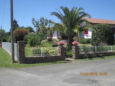 jardin de la villa aux 2 logements