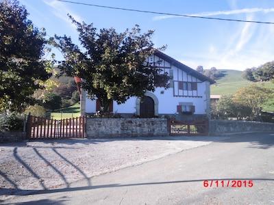 maison traditionnelle du Pays Basque