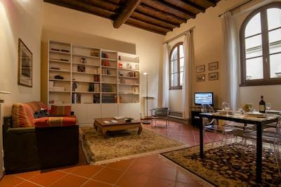 San Miniato Apartment - Living Room