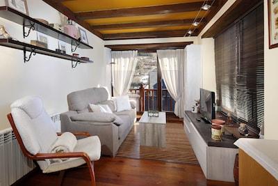 Vielha: Acogedor apartamento en Vielha e Mijaran - Gausac