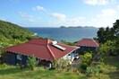 Les 3 cases des Hauts de la Baie  INDIGO & AZUR, TURQUOISE face à la baie