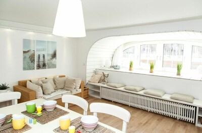 Wohnung Dünengras: Wohn- & Essbereich