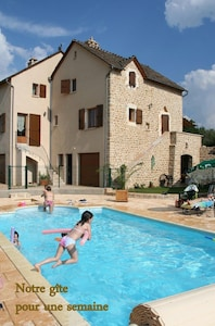 piscine chauffee