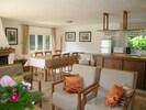 La Villa d'Ailly ou Les Craquelins: séjour cuisine