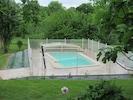 La piscine et ses plantations