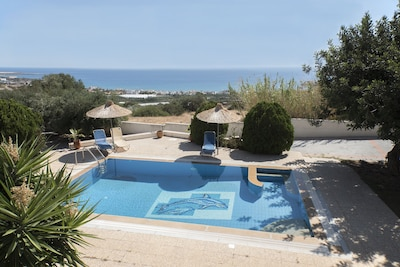 Pool and view from the balcony