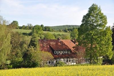 Südostansicht des Forsthauses