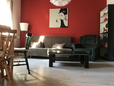 Wohnzimmer / living room Fewo I / flat I