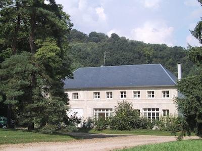 Bahnhof Clacy - Mons, Clacy-et-Thierret, Département Aisne, Frankreich