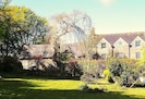 The Old Rectory and Retreat Cottage from the Garden
